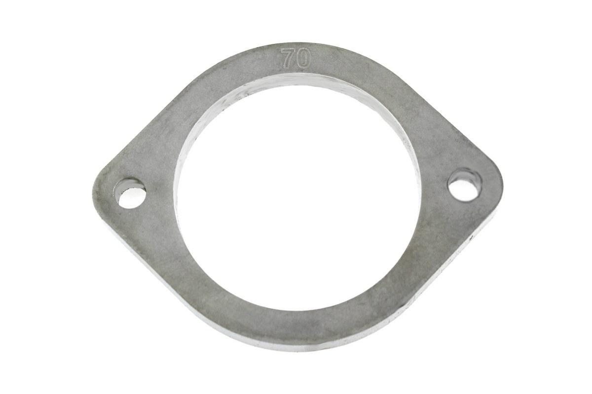 Flansza łącznik układu wydechowego 70mm 2 śruby - GRUBYGARAGE - Sklep Tuningowy